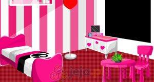 Różowy pokój