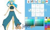 Kreator postaci: Kosmiczna księżniczka