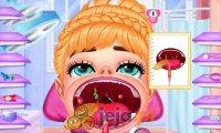 Elsa, Anna i zapalenie gardła