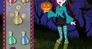 Draculaura na Halloween