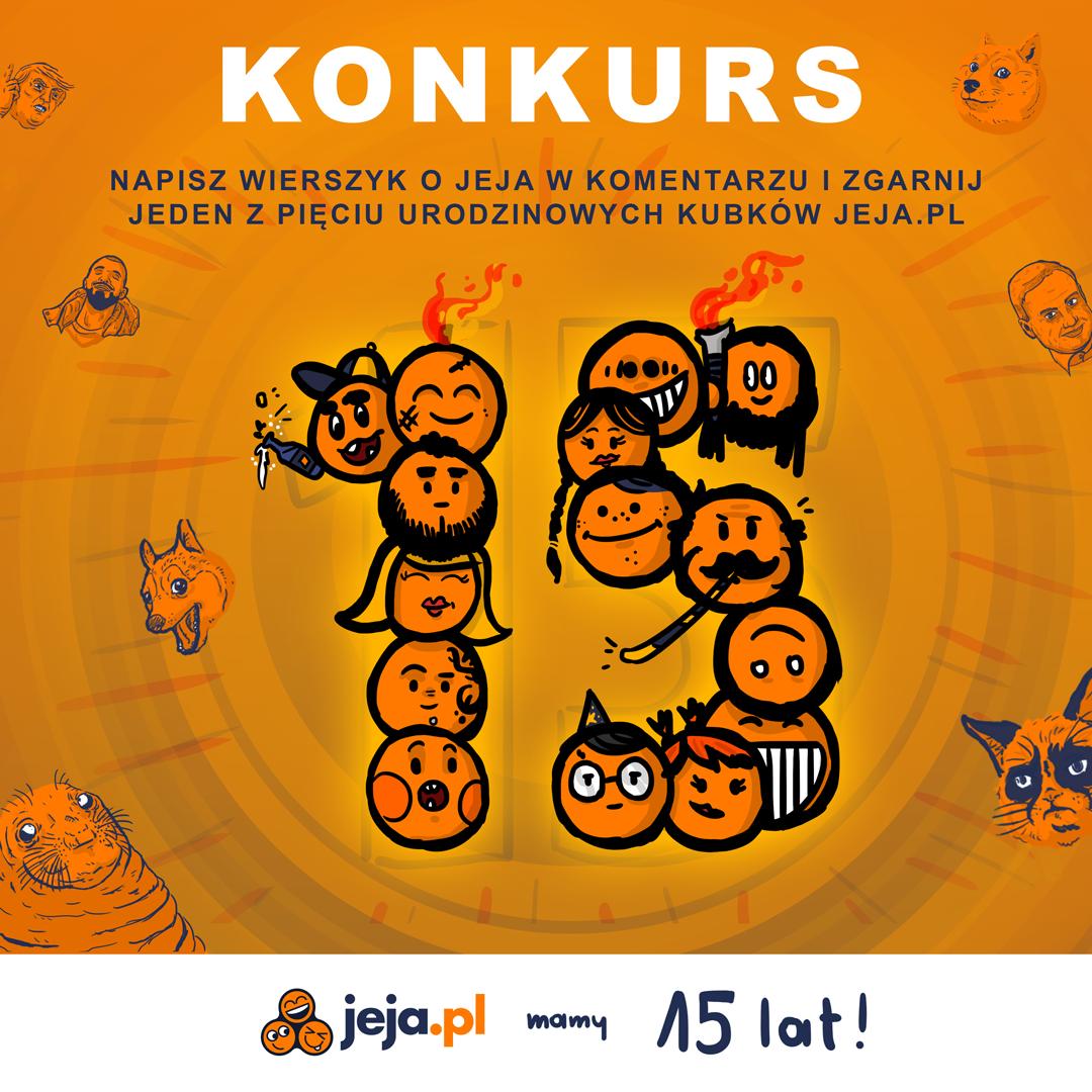 15 lat Jeja.pl