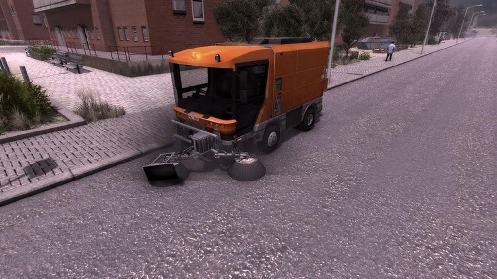 Street Cleaning Simulator - symulator jazdy oczyszczarką ulic