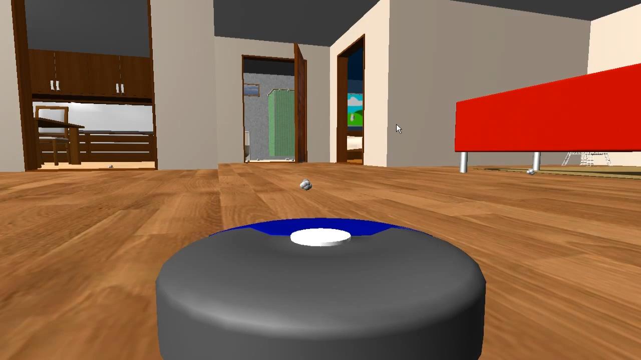 Robot Vacuum Simulator 2013 - symulator automatycznego odkurzacza