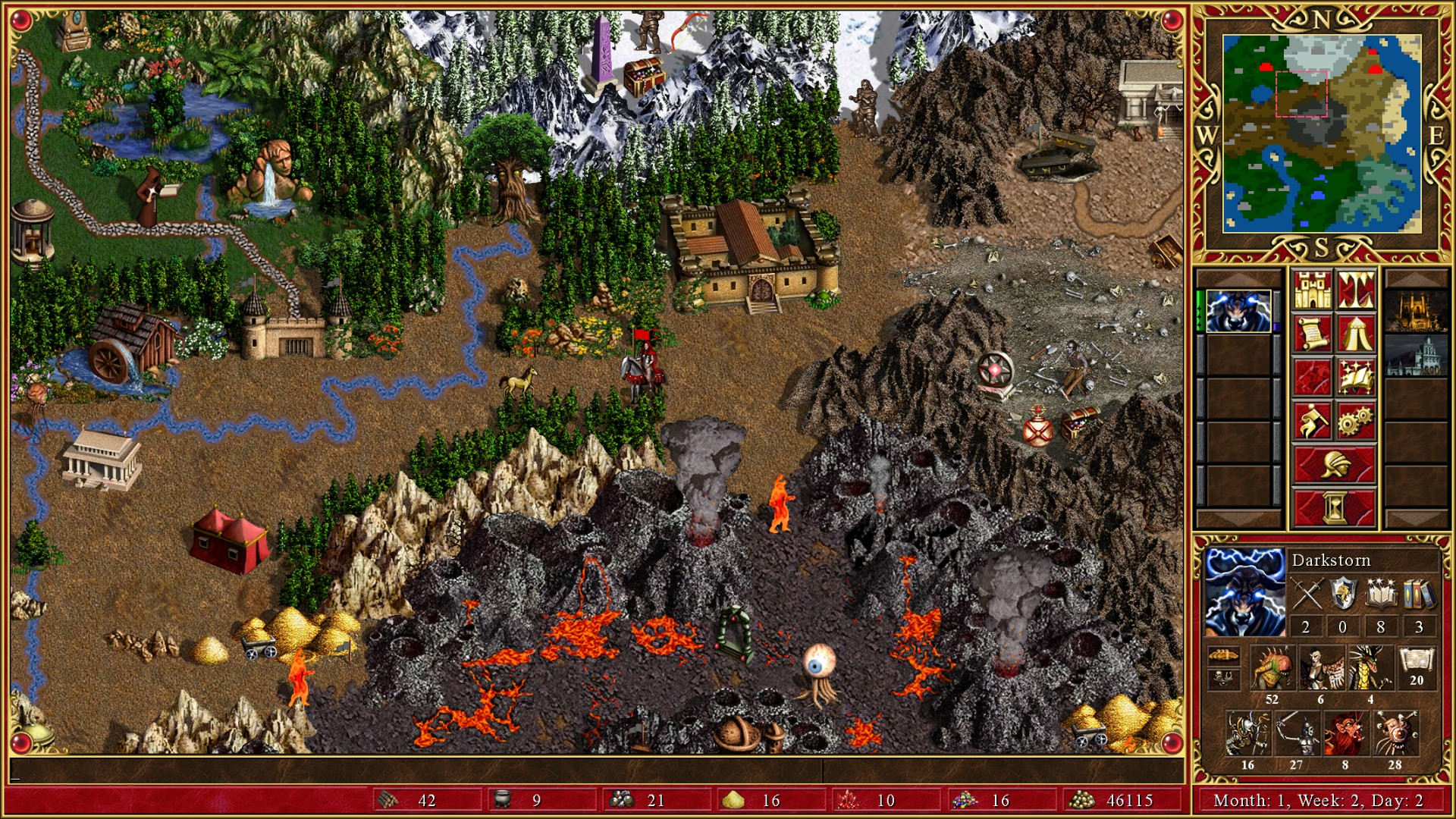 Heroes of Might and Magic III: Ostrze Armageddonu
