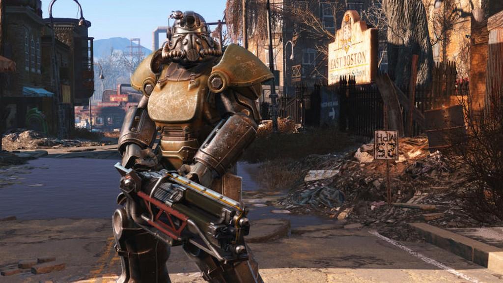 Pancerz wspomagany X-01 - Fallout 4