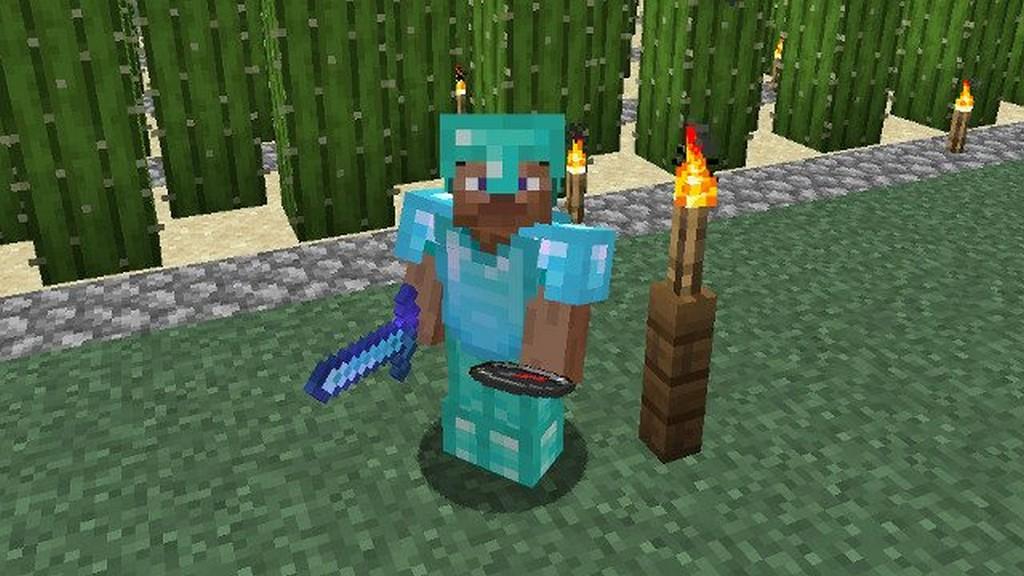Diamentowy set - Minecraft