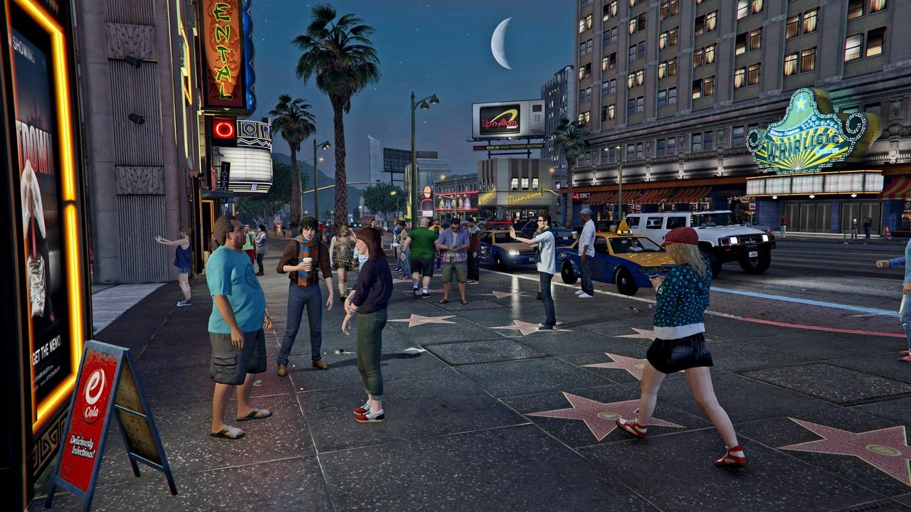 Grand Theft Auto V i cała seria