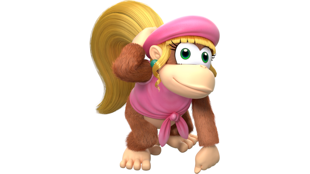 Dixie Kong – Donkey Kong Country 2: Diddy's Kong Quest