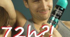 72 godziny bez prysznica? - AdBuster - konfrontacja Garnier
