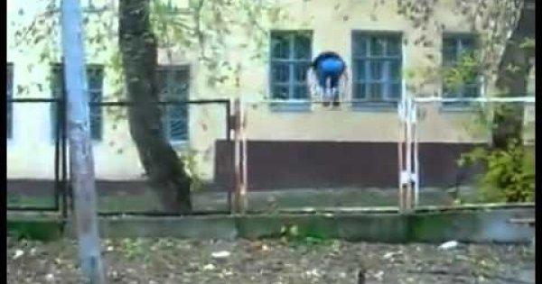 Dziecięce akrobacje