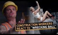Miley Cyrus oczami budowlańców