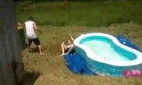 Wślizg do basenu