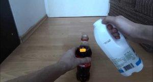 Niesamowita reakcja Coca-Coli z mlekiem