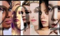 100 najpiękniejszy kobiecych twarzy 2012