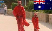 Denerwujący diabeł w Australii