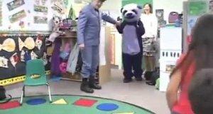 Fioletowa Panda - przyjaciółka wszystkich dzieci