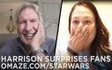 Harrison Ford zaskakuje fanów Gwiezdnych Wojen