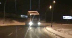 Drift ciężarówką