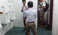 Nieco inna bójka w tajskiej szkole