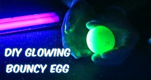 Świecące w ciemności jajko
