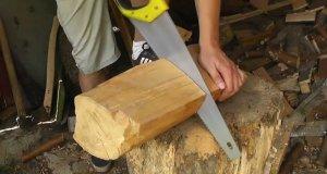 Drewniana lampka w dwie minuty