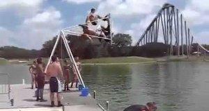 Huśtawka nad wodą