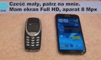 Krótkie porównanie - telefon kiedyś i dziś