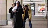 Ukryta kamera - zakonnica