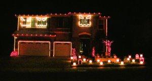 Halloweenowy pokaz świateł