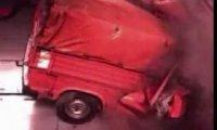 Crash test ciężarówki