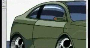 Auto w Paincie