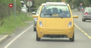Małe auto - wielki klakson