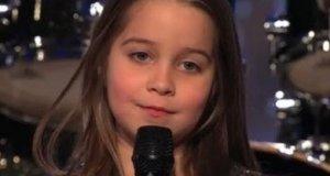 Metalowa dziewczynka w Mam Talent