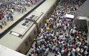 Godziny szczytu w chińskim metrze