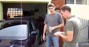 Mechanik zdenerwował się, gdy klient nie chciał zapłacić