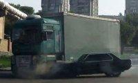 Wypadki z udziałem ciężarówek - Sierpień 2013