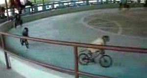 Małpy na rowerach