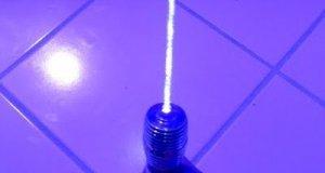 Miecz świetlny domowej roboty