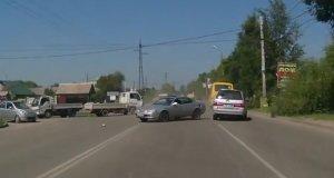 Wypadki samochodowe - sierpień 2013