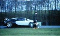 Cristiano Ronaldo Vs Bugatti
