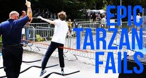 Największe wpadki na Tarzana