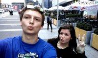 Selfie z ludźmi
