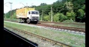 Rosyjski pociąg towarowy