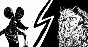 Kot vs mysz