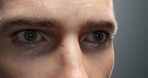 Niezwykle realistyczna animacja męskiej twarzy