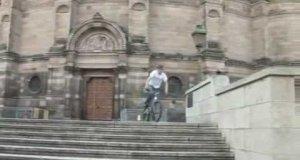 Wyczyny na rowerze