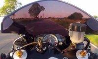 Wielki fart na motorze