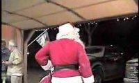 Mikołaj nadlatuje