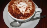 Obrazki na kawie