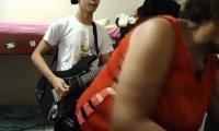 Nieudany gitarowy pokaz